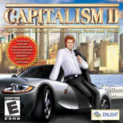 Bestselling Games (2006) - Capitalism 2 (Jewel Case)