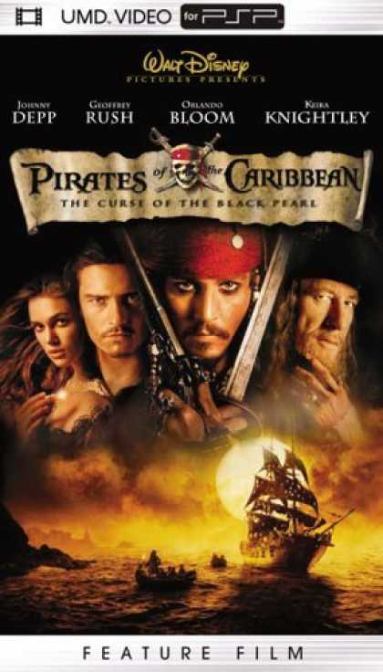 Bestselling Games (2006) - Pirates of the Caribbean - The Curse of the Black Pearl (UMD Mini For PSP)