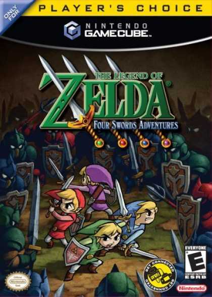 Bestselling Games (2006) - Legend Zelda Four Swords Adventures No Cables