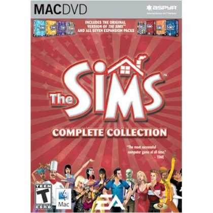 Bestselling Games (2006) - Sims Complete