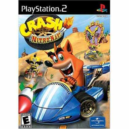 Bestselling Games (2006) - Crash Nitro Kart