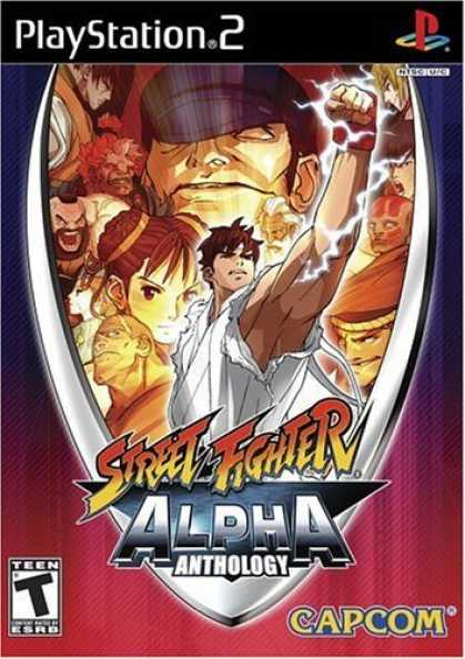Bestselling Games (2006) - Street Fighter Alpha Anthology