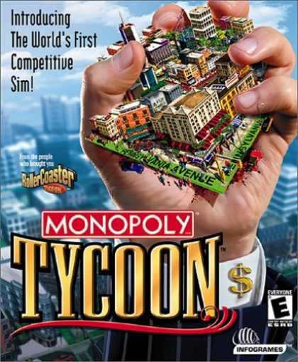 Bestselling Games (2006) - Monopoly Tycoon (Jewel Case)