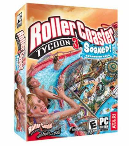 Bestselling Games (2006) - Rollercoaster Tycoon 3: Soaked! Expansion