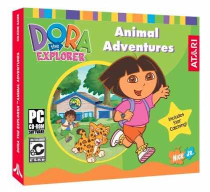 Bestselling Games (2006) - Dora Animal Adventures (Jewel Case)