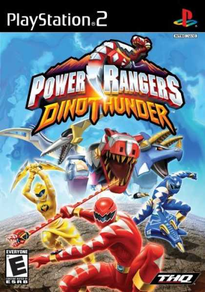 Bestselling Games (2006) - Power Rangers Dino Thunder