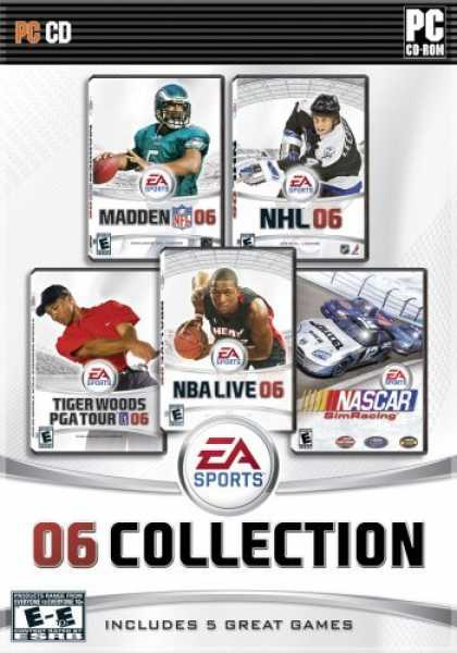 Bestselling Games (2006) - EA Sports 06 Collection (Madden 06, NASCAR Sim Racing, NBA Live 06, NHL 06, Tige