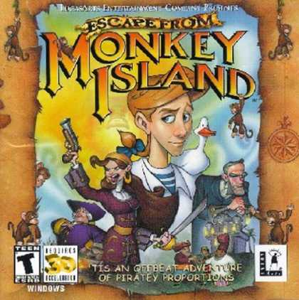 Bestselling Games (2006) - Escape from Monkey Island (Jewel Case)