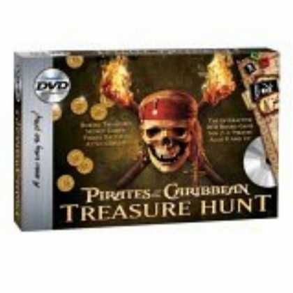 Bestselling Games (2006) - Pirate of the Caribbean DVD Treasure Hunt