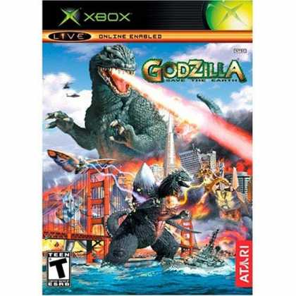 Bestselling Games (2006) - Godzilla Save the Earth