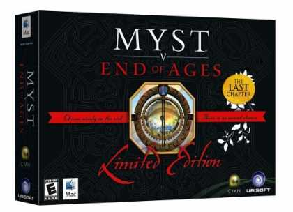 Bestselling Games (2006) - Myst V: End of Ages Limited Edition (Mac)