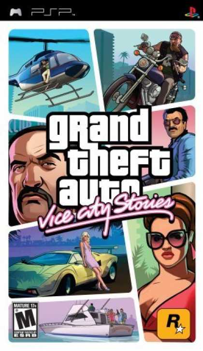 Bestselling Games (2006) - Grand Theft Auto Vice City Stories