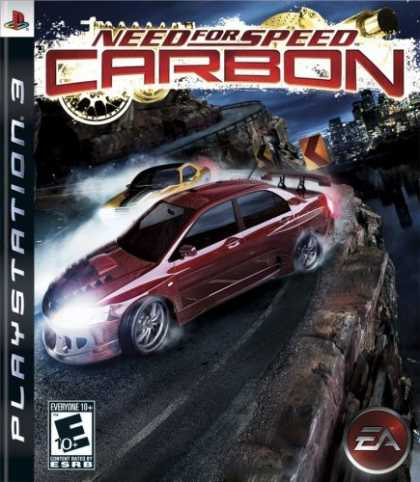 Bestselling Games (2006) - Need for Speed Carbon