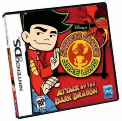 Bestselling Games (2006) - Disney's American Dragon Jake Long: Attack of the Dark Dragon DS