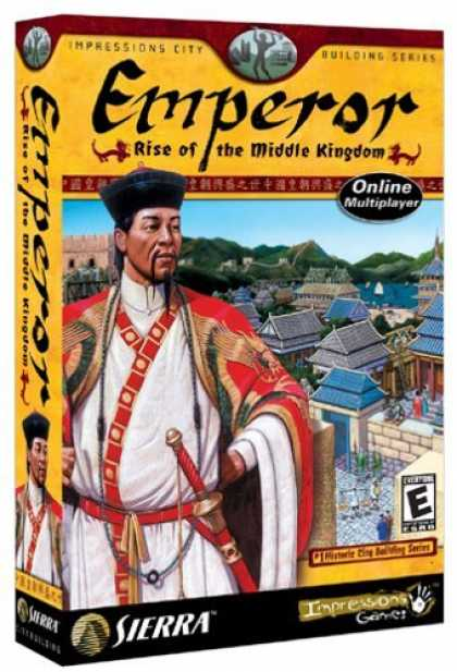 Bestselling Games (2006) - Emperor: Rise of the Middle Kingdom