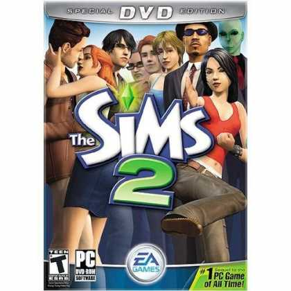 Bestselling Games (2006) - The Sims 2 Special DVD Edition