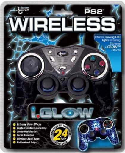 Bestselling Games (2006) - Sony Playstation 2 Wireless iGlow Controller Black