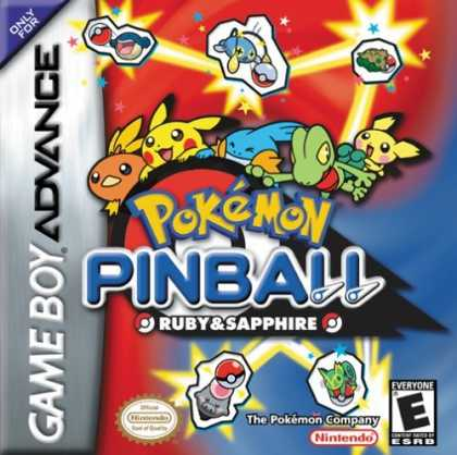 Bestselling Games (2006) - Pokemon Pinball Ruby and Sapphire