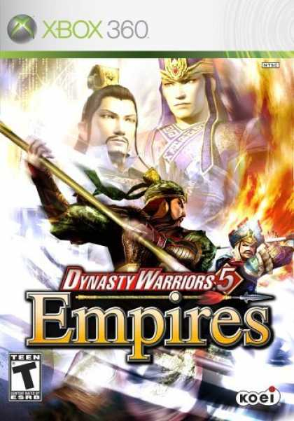 Bestselling Games (2006) - Dynasty Warrior 5 Empires