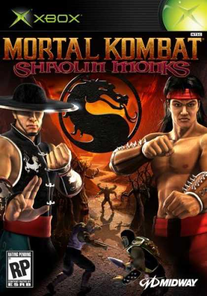 Bestselling Games (2006) - Mortal Kombat Shaolin Monks