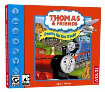 Bestselling Games (2006) - Thomas: Trouble on the Tracks (Jewel Case)