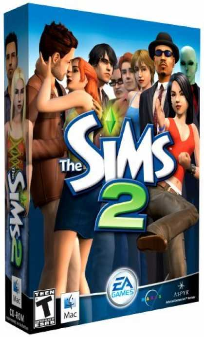 Bestselling Games (2006) - The Sims 2 (Mac)