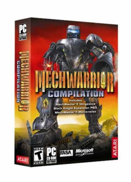 Bestselling Games (2006) - MechWarrior 4 Compilation