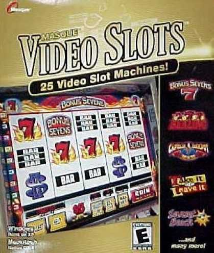 Bestselling Games (2006) - Masque Video Slots With 25 Slot Machines (Win/Mac)