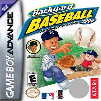 Bestselling Games (2006) - Backyard Baseball 2006