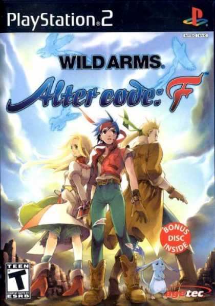 Bestselling Games (2006) - Wild Arms Alter Code F