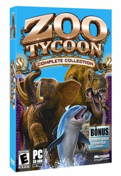 Bestselling Games (2006) - Zoo Tycoon Complete Collection
