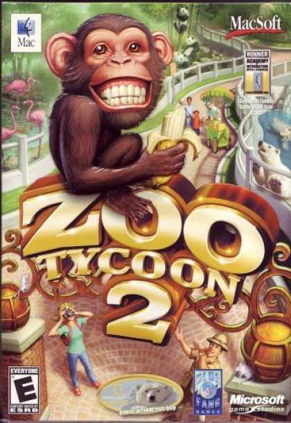 Bestselling Games (2006) - Zoo Tycoon 2 (Mac)