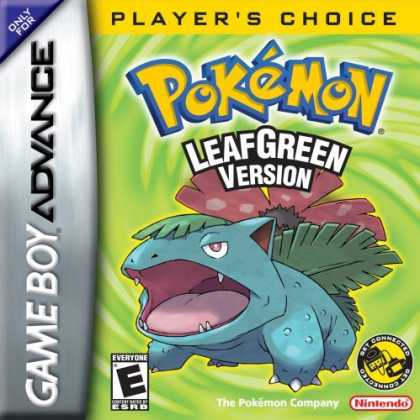 Bestselling Games (2006) - Pokemon Leaf Green Version