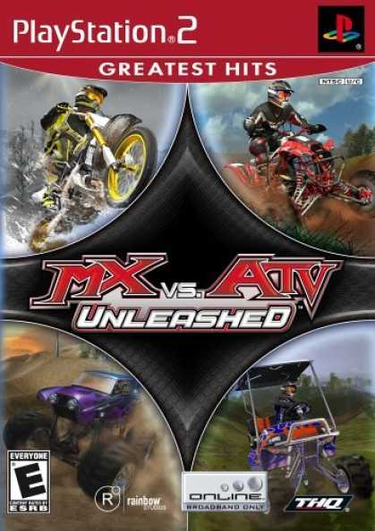 Bestselling Games (2006) - MX vs. ATV Unleashed for PlayStation 2