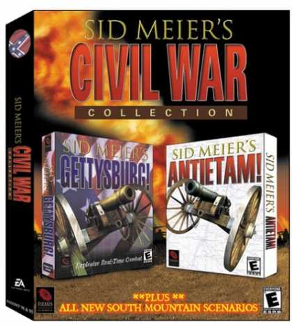 Bestselling Games (2006) - Sid Meier's Civil War Collection