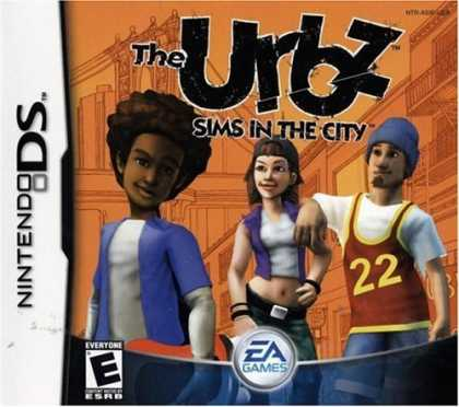 Bestselling Games (2006) - Urbz: Sims in the City for Nintendo DS