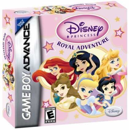 Bestselling Games (2006) - Disney's Princess Royal Adventure GBA