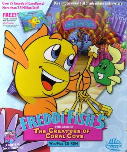 Bestselling Games (2006) - Freddi Fish 5: The Case of the Creature of Coral Cove