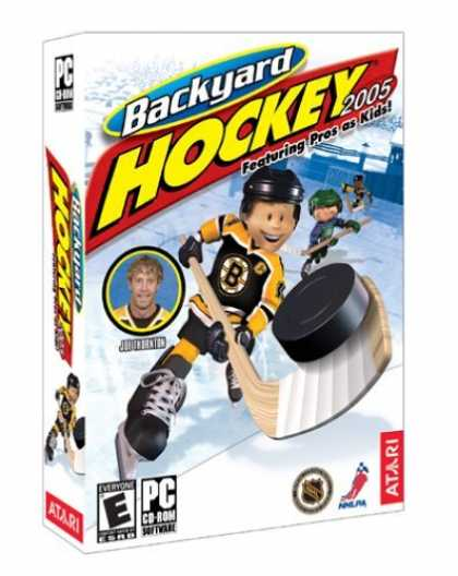 Bestselling Games (2006) - Backyard Hockey 2005