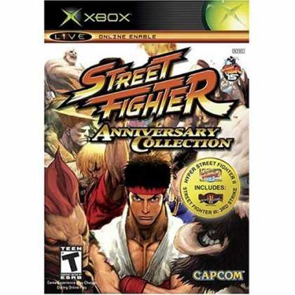 Bestselling Games (2006) - Street Fighter Anniversary Collection