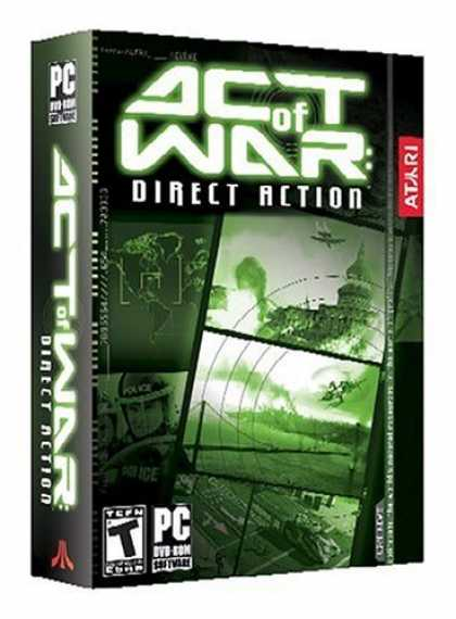 Bestselling Games (2006) - Act of War: Direct Action (DVD)