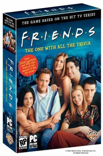 Bestselling Games (2006) - Friends: The One With All the Trivia