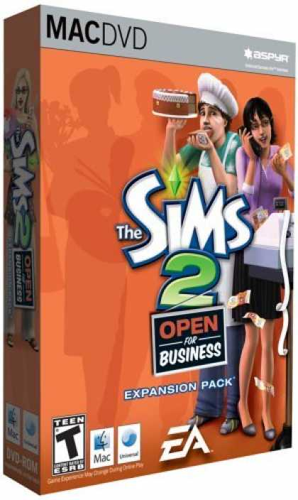 Bestselling Games (2006) - The Sims 2: Open for Business (Mac)