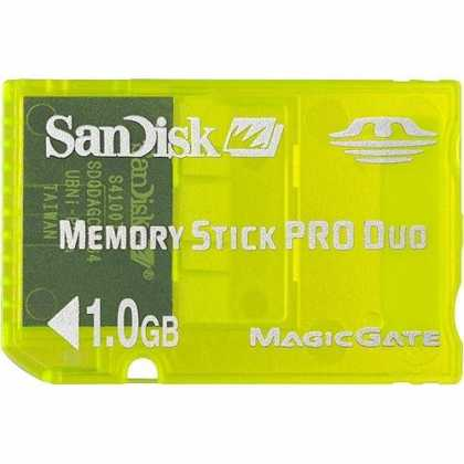 Bestselling Games (2006) - SanDisk SDMSG-1024 Pro Duo 1 GB Gaming Memory Stick