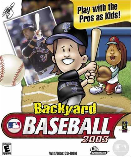 Bestselling Games (2006) - Backyard Baseball 2003