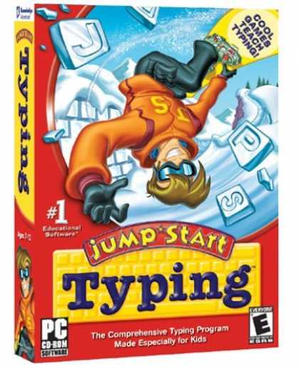 Bestselling Games (2006) - JUMP START TYPING B43