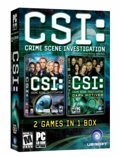 Bestselling Games (2006) - CSI/CSI: Dark Motives Double Pack