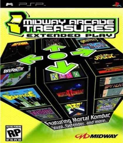 Bestselling Games (2006) - Midway Arcade Treasures Extended Play