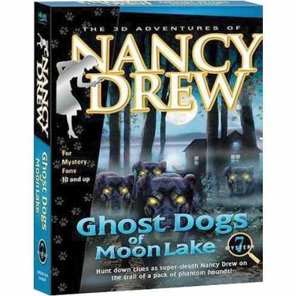 Bestselling Games (2006) - Nancy Drew : Ghost Dogs of Moon Lake (Jewel Case)