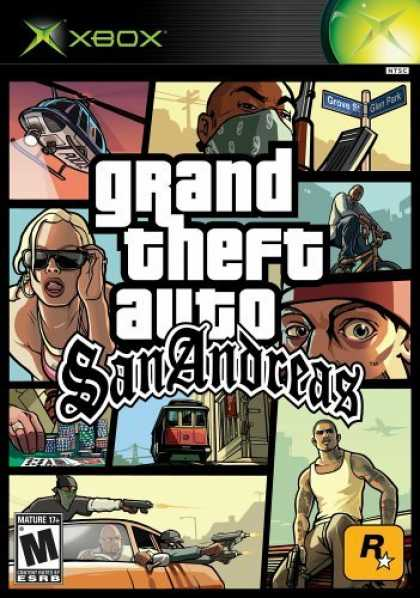Bestselling Games (2006) - Grand Theft Auto San Andreas for XBox
